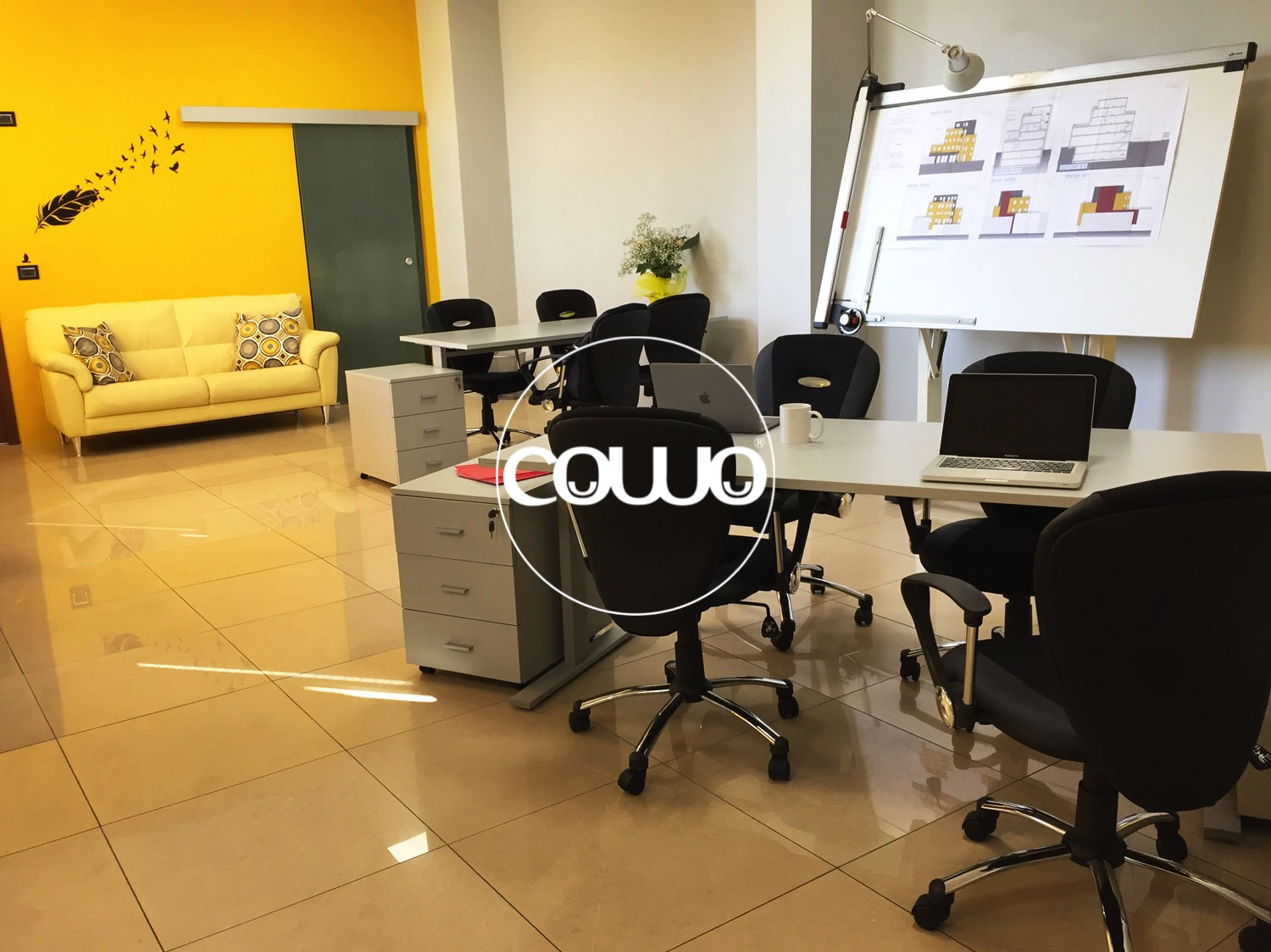 Coworking a Torino: Open Space